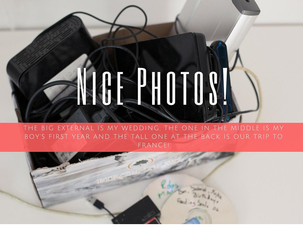 Organize photos,