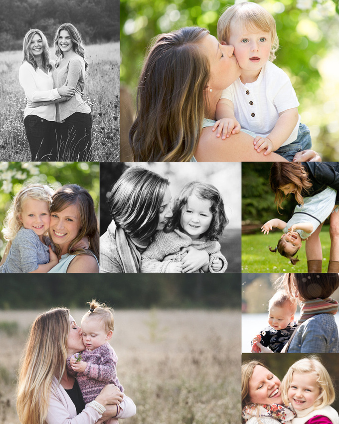 mommy&me outdoors portrait session