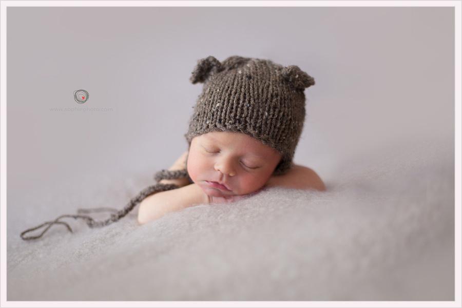 Newborn photograph, SophiePhoto
