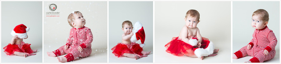 Christmas mini session in studio, Vancouver Island Sophie Photo