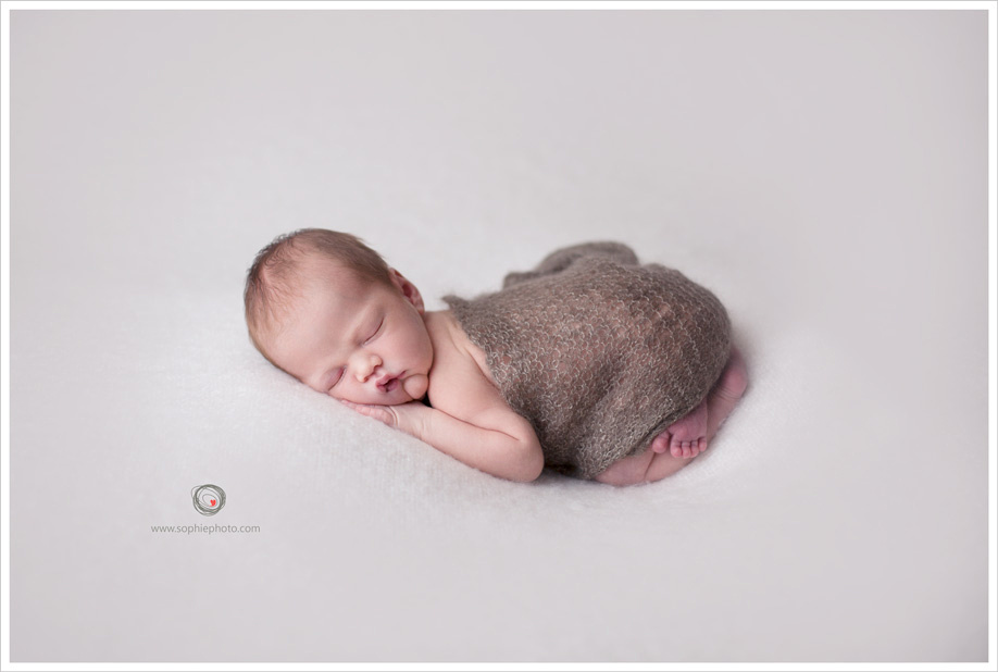 sleeping baby boy photograph