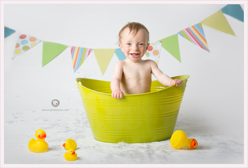 Cake Smash session baby photographer BC