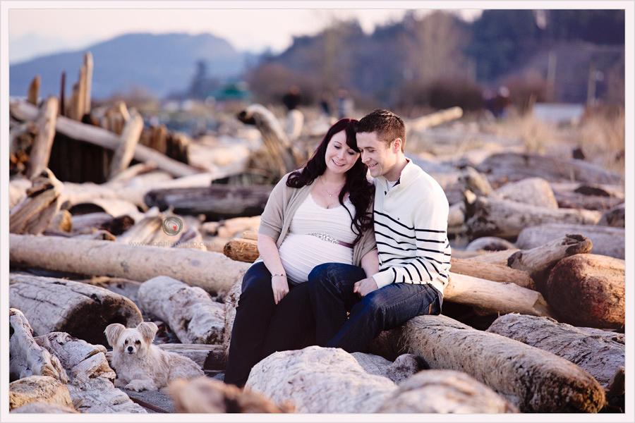Maternity session Victoria BC